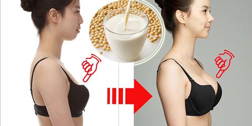 uống sữa đậu nành fami có tăng vòng 1 không