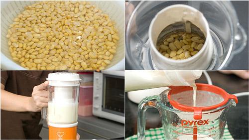 uống sữa đậu nành tăng vòng 1