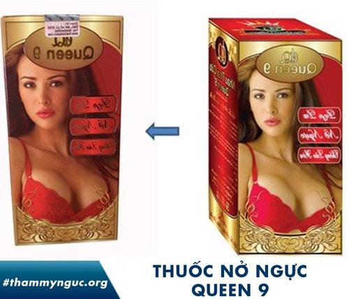 thuốc nở ngực queen 9