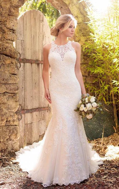 áo nâng ngực mặc váy cưới